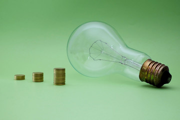 big idea, successful business concept, green economy