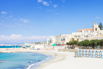 Otranto, Apulia - Out for a walk at the quiet beach of Otranto in Italy
