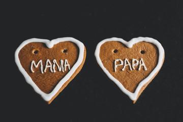 gingerbread heart mama papa