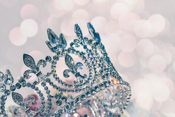 Brautkrone oder Diadem Haarschmuck Tiara