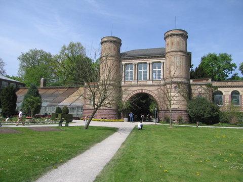 Haupteingang Botanischer Garten Karlsruhe