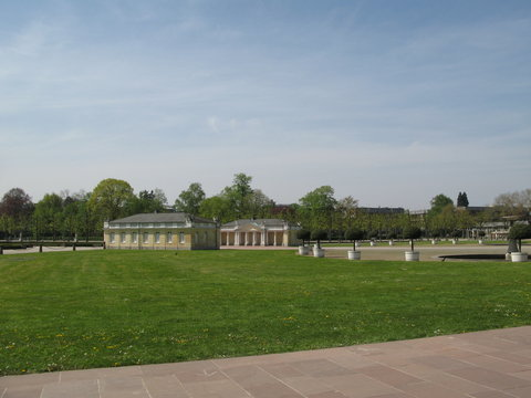 Barocke Wachhäuschen Schloss Karlsruhe