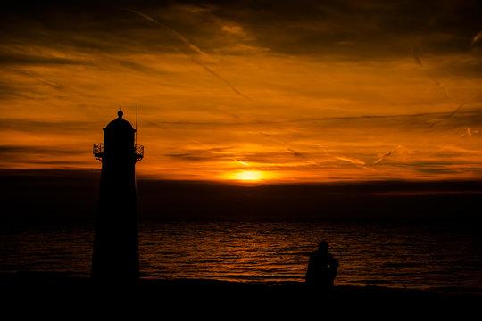 Zeeland Sonnenuntergang