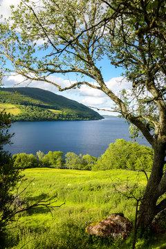 Loch Ness Landschaft