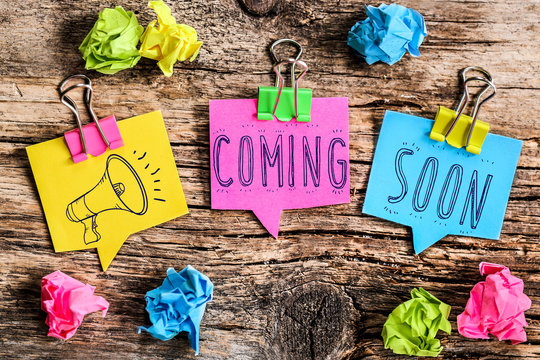 Post-it note : Coming soon