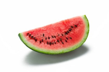 Slices fruit of watermelon