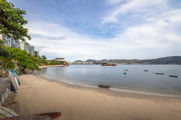 Boa Viagem Beach and Niteroi Skyline - Niteroi, Rio de Janeiro, Brazil