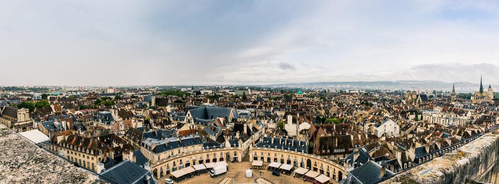 Panorama de Dijon du haut de la Tour Philippe Le Bon