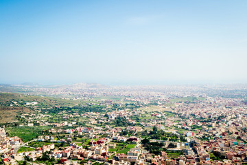 View on nador city
