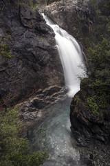 Sutuven Waterfall near the Hasan Boguldu Lake in Edremit