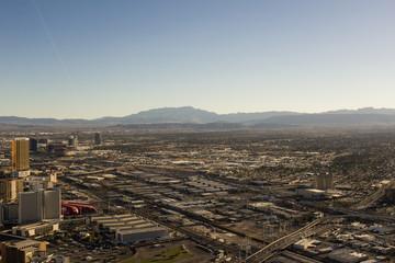 Beautiful panoramic view of Las Vegas