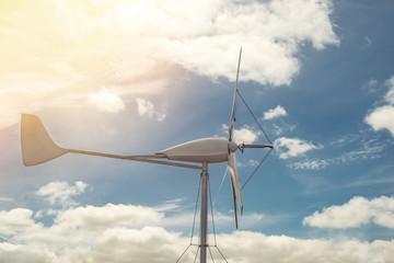 Kleinwindanlage windkraftanlage erneuerbare Energie ökostrom