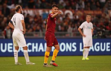 Champions League - Group Stage - Group G - AS Roma v Viktoria Plzen