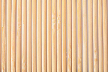 Texture of bamboo mat as background, closeup view