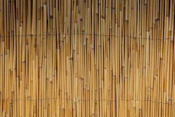 straw mat pattern as background surface