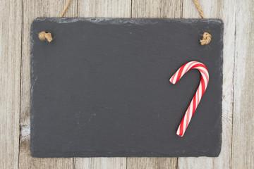Old fashion Christmas hanging chalkboard background