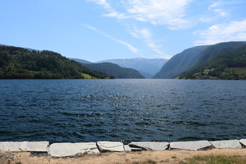 Hardanger fjord in Norway