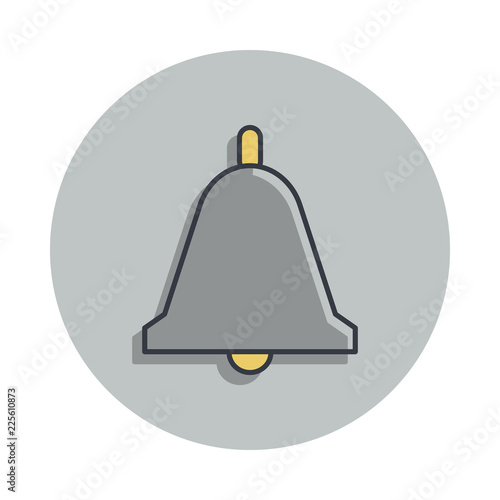 20d3c1bd bell icon in badge style. One of web collection icon can be used for ...