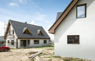 Small new build house