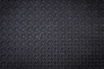 Black dirty diamond plate floor background