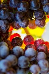 Fototapete - Ripe grapes