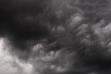 Abstract dark Storm Clouds background