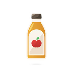 Apple cider vinegar vector
