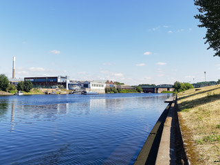 Quite day on the River Trent in Nottingham