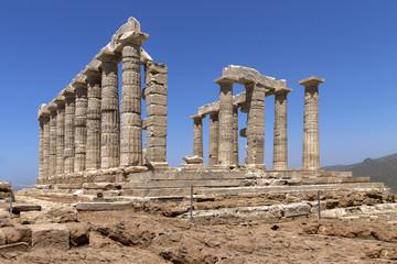 Templo de Poseidón en el Cabo Sounion Grecia