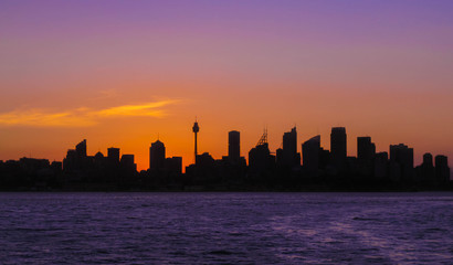 Poster - Skyline Sydney