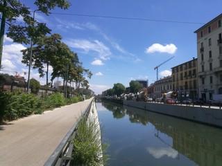 Milan Naviglio District
