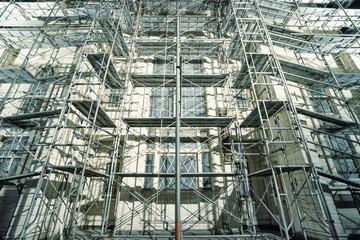 枠組足場 temporary scaffold