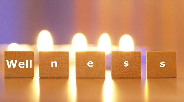 Wellness, Entspannung im Kerzenlicht