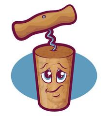 Wine Cork Character