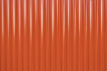 Red metal  background with stripes