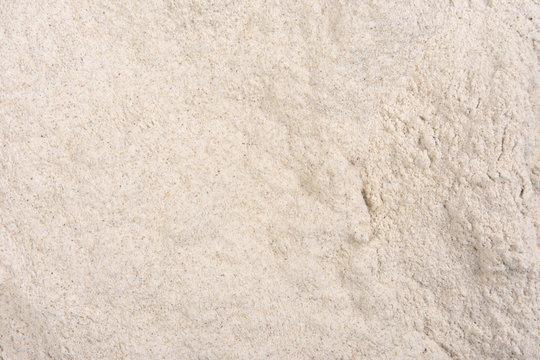 close up of flour  buckwheat