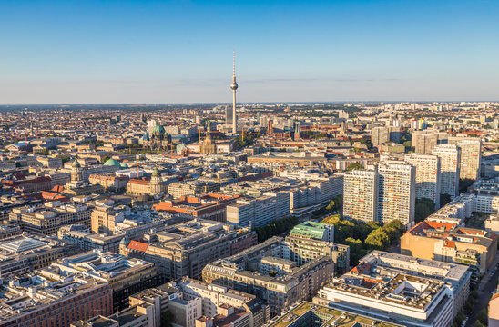 Nice Panoramic view of Berlin