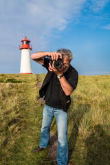 Fotograf  auf Sylt