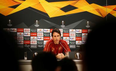 Europa League - Arsenal Press Conference