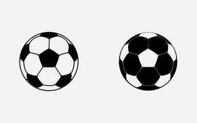 Vector Football icon gray background