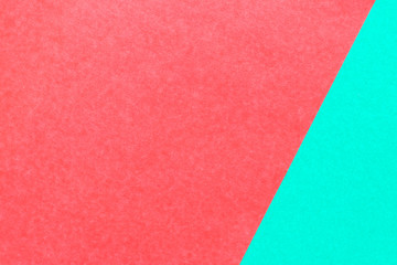 Abstract red and green color paper background for design and decoration