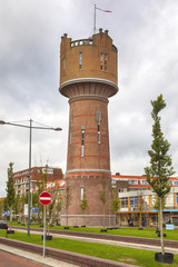Historic water tower at Den Helder, The Netherlands