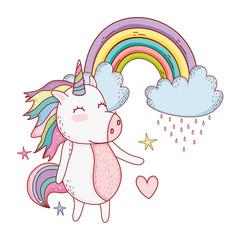 unicorn fantasy drawing cartoon