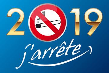 Pour la nouvelle année 2019, prendre la bonne résolution d'arrêter de fumer