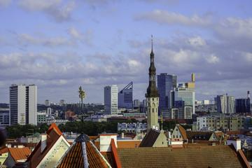 City Tallinn Estonia