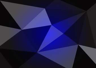 Polygonal shapes abstract background. Vector crystal design for backdrop.