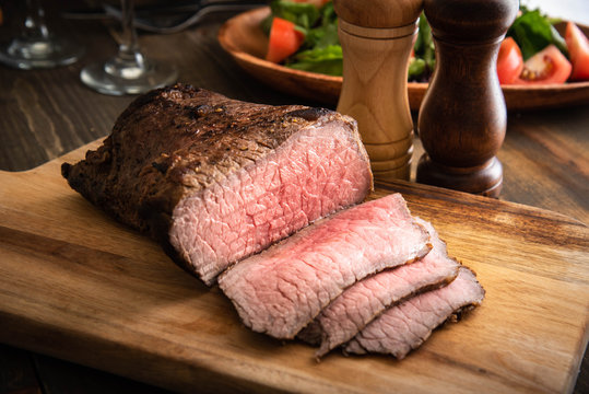 roasted beef of bottom round