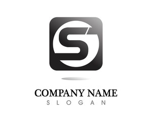 Business corporate letter P logo design vector