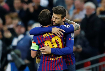 Champions League - Group Stage - Group B - Tottenham Hotspur v FC Barcelona