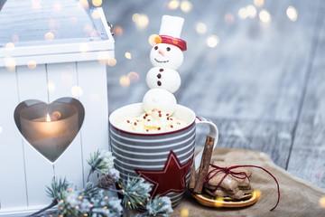 weihnachten karte tea Kakao